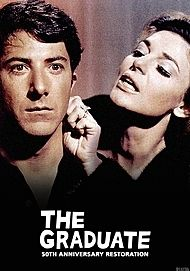"Movie poster for ""THE GRADUATE"""