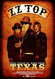 "Movie poster for ""ZZ TOP: THAT LITTLE OI BAND FROM TEXAS"""