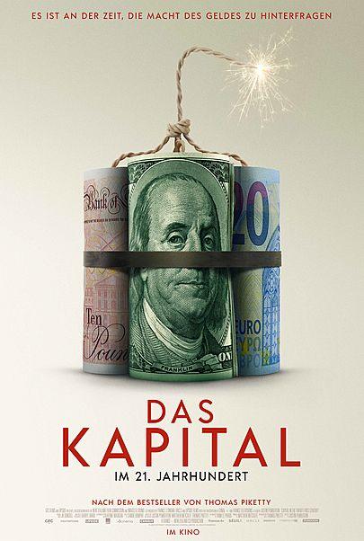 """Filmplakat für """"DAS KAPITAL IM 21. JAHRHUNDERT"""""""