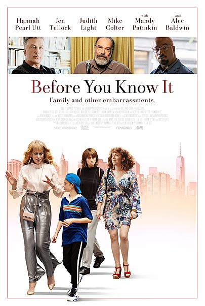 """Movie poster for """"BEFORE YOU KNOW IT"""""""