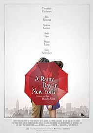 "Filmplakat für ""A RAINY DAY IN NEW YORK"""