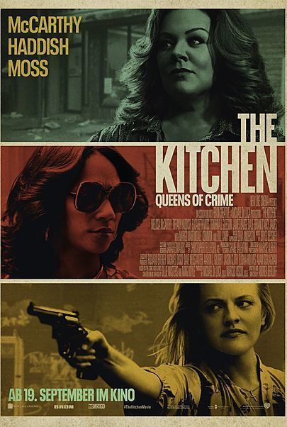 """Movie poster for """"THE KITCHEN"""""""