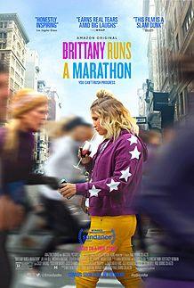 "Movie poster for ""BRITTANY RUNS A MARATHON"""