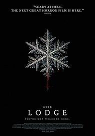 "Movie poster for ""THE LODGE"""