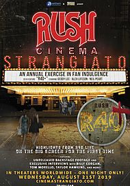 "Movie poster for ""RUSH: CINEMA STRANGIATO"""