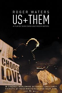 """Movie poster for """"ROGER WATERS  US + THEM"""""""