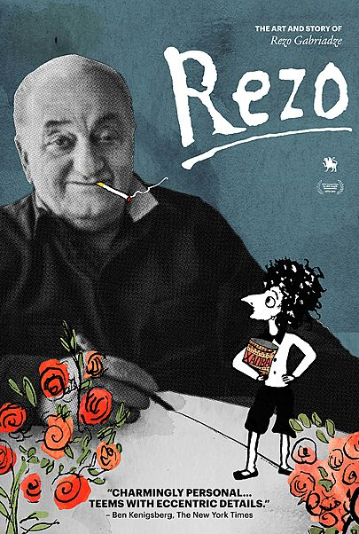 "Movie poster for ""REZO"""