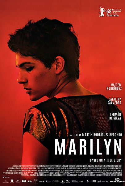 """Movie poster for """"MARILYN"""""""