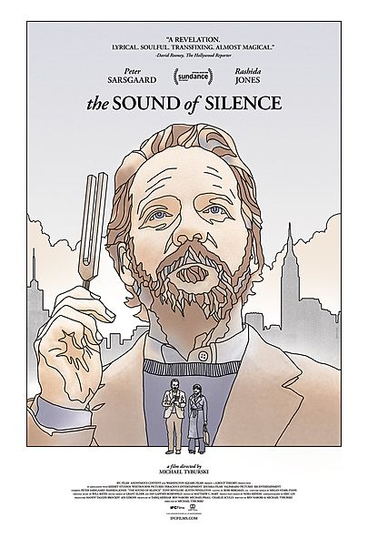 """Movie poster for """"THE SOUND OF SILENCE """""""