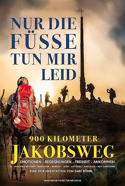 """Movie poster for """"NUR DIE FÜSSE TUN MIR LEID"""""""