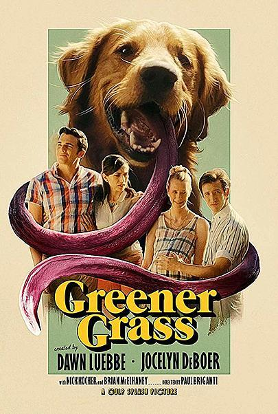 """Movie poster for """"GREENER GRASS"""""""