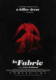 "Movie poster for ""IN FABRIC"""