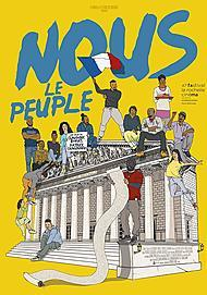 "Movie poster for ""NOUS LE PEUPLE"""