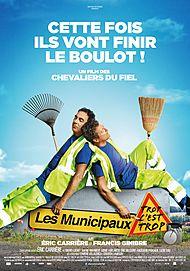 """Movie poster for """"LES MUNICIPAUX, TROP C'EST TROP !"""""""