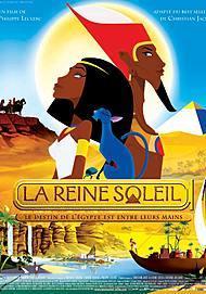 """Movie poster for """"LA REINE SOLEIL"""""""