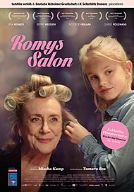 "Movie poster for ""ROMY'S SALON"""