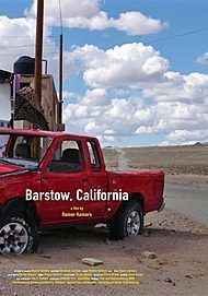 "Movie poster for ""BARSTOW, CALIFORNIA"""
