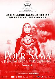 "Movie poster for ""FOR SAMA"""