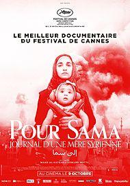 """Affiche du film """"POUR SAMA"""""""