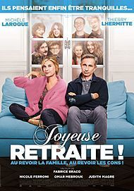 "Movie poster for ""JOYEUSE RETRAITE !"""