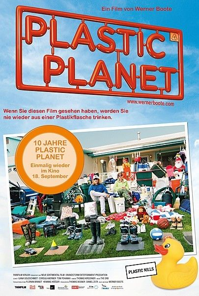 "Movie poster for ""PLASTIC PLANET - 10 JAHRE"""