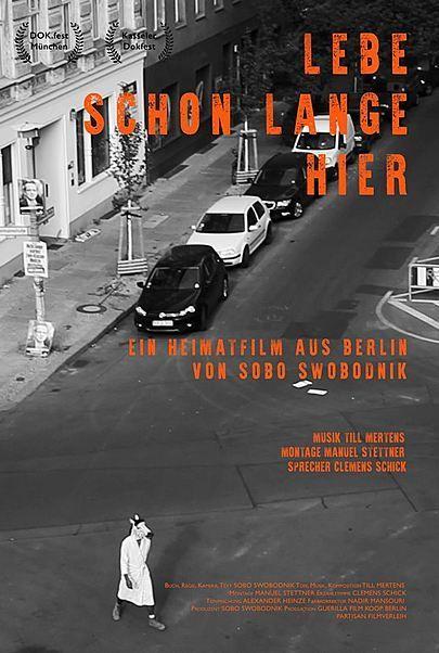 """Filmplakat für """"LEBE SCHON LANGE HIER"""""""