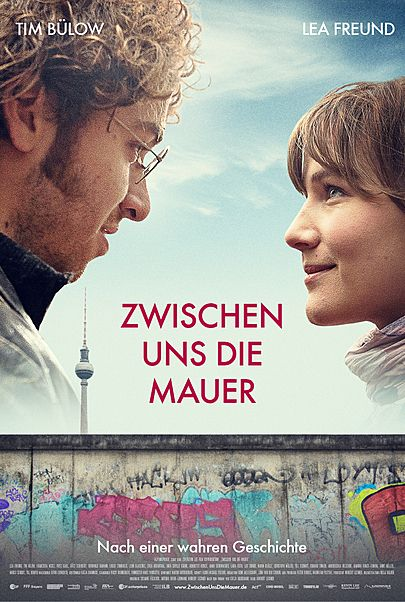 """Movie poster for """"ZWISCHEN UNS DIE MAUER"""""""