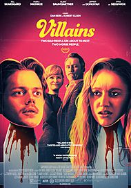 "Movie poster for ""VILLAINS"""