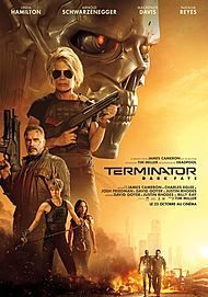 "Movie poster for ""TERMINATOR: DARK FATE"""
