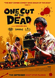 "Movie poster for ""ONE CUT OF THE DEAD"""