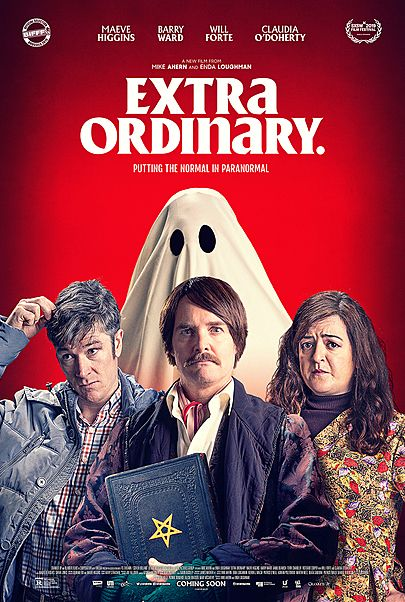 """Movie poster for """"EXTRA ORDINARY"""""""