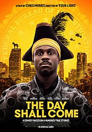 "Movie poster for ""THE DAY SHALL COME"""