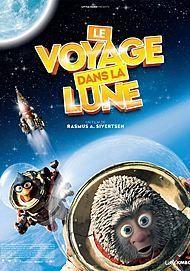 """Affiche du film """"LE VOYAGE DANS LA LUNE"""""""