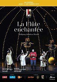 "Movie poster for ""LA FLUTE ENCHANTEE (FESTIVAL DE SALZBOURG-FRA CINEMA)"""