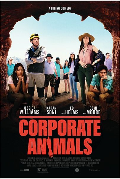 """Movie poster for """"CORPORATE ANIMALS"""""""