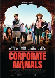 "Movie poster for ""CORPORATE ANIMALS"""