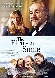 "Movie poster for ""THE ETRUSCAN SMILE"""