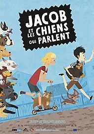 """Movie poster for """"JACOB, MIMMI AND THE TALKING DOGS"""""""
