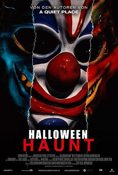 """Movie poster for """"HAUNT"""""""