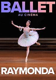 """Movie poster for """"RAYMONDA (BOLSHOI BALLET IN CINEMA 19/20)"""""""