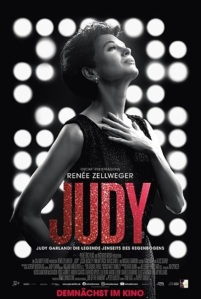"Movie poster for ""JUDY"""