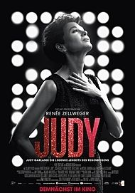 """Movie poster for """"JUDY"""""""