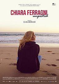 "Movie poster for ""CHIARA FERRAGNI - UNPOSTED"""