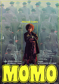 "Movie poster for ""MOMO"""