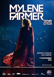 """Movie poster for """"MYLENE FARMER 2019 - LE FILM"""""""