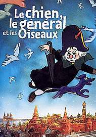 """Movie poster for """"THE DOG, THE GENERAL, AND THE BIRDS"""""""
