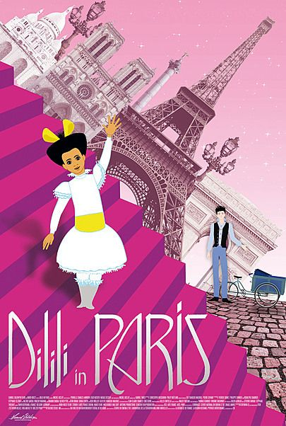 """Movie poster for """"DILILI IN PARIS"""""""