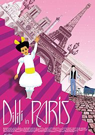 "Movie poster for ""DILILI IN PARIS"""