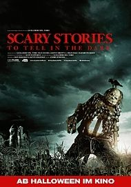 "Movie poster for ""SCARY STORIES TO TELL IN THE DARK"""