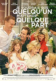 """Movie poster for """"JE VOUDRAIS QUE QUELQU'UN M'ATTENDE QUELQUE PART"""""""
